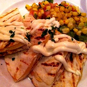 Bbq Chicken And Cheese Quesadilla