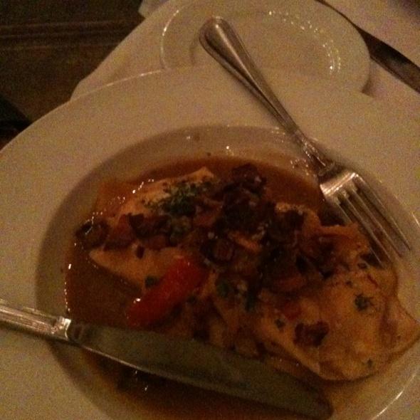 Blue Crab & Saffron Tortellaci - Z Cucina di spirito, Columbus, OH