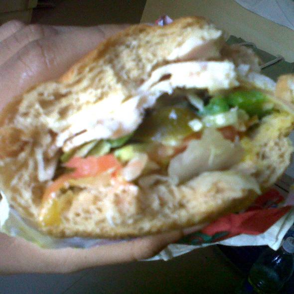 Chicken Ham Sub @ Subway