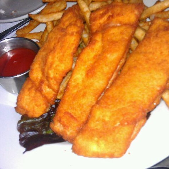 Cod Fish and chips - Rosie's Bistro Italiano, Bronxville, NY