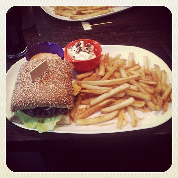 Rúdólf - Reindeer Burger @ Hamborgarafabrikkan