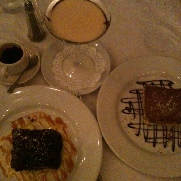 Three Desserts - Z Cucina di spirito, Columbus, OH