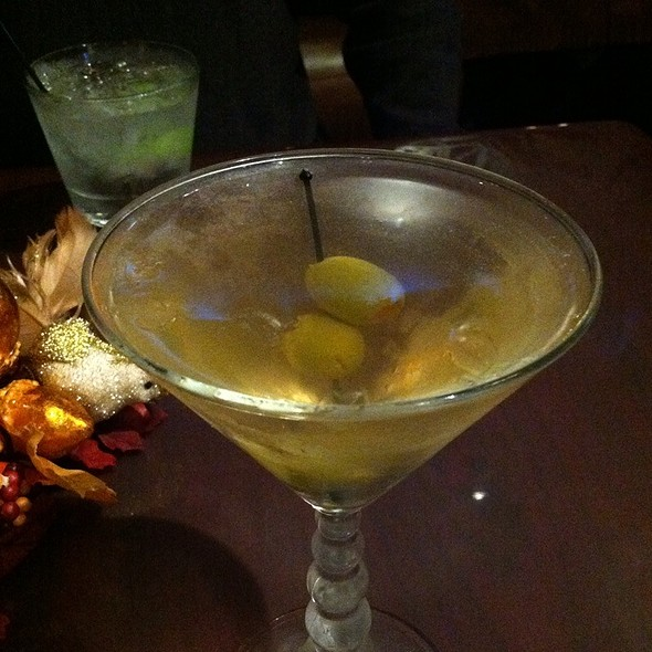 Dirty Martini - The Gambling Cowboy Chophouse and Saloon, Temecula, CA