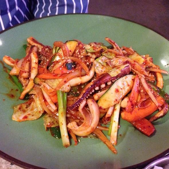 Octopus Stir Fry @ Songpa Yukejang