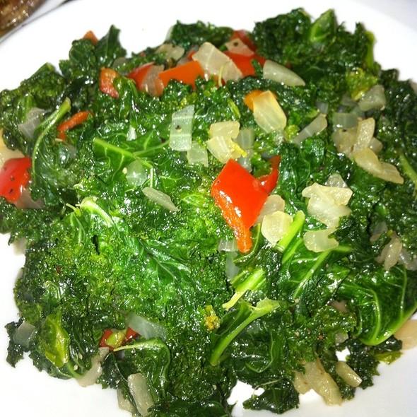 Braised Kale - Single Barrel, Lincoln, NE