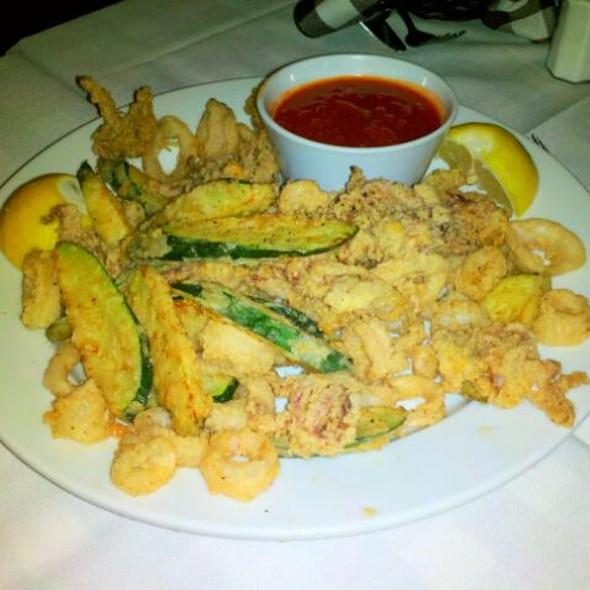 Calamari And Zucchini Fritti @ Ristorante Arrivederci