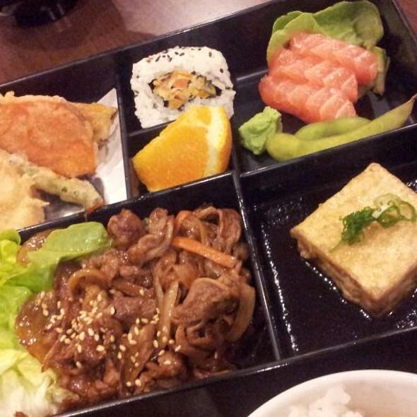 Teriyaki Beef Bento Box @ Kazuki