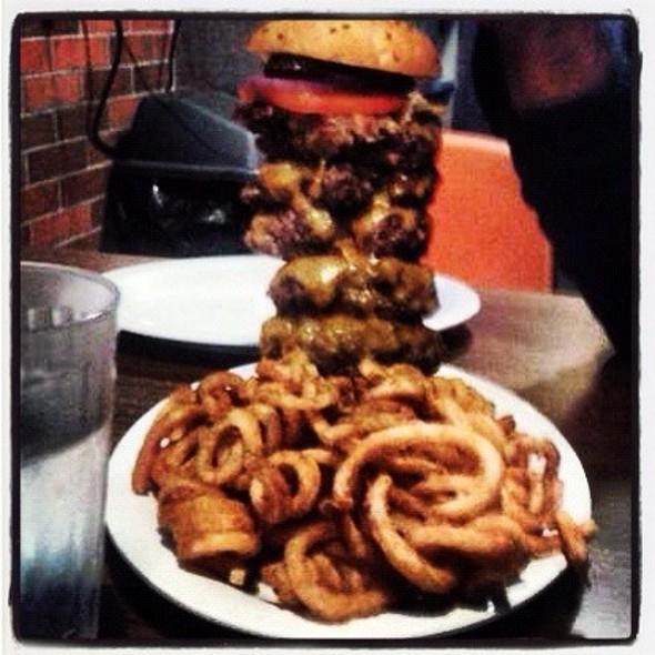Burger Bar Challenge
