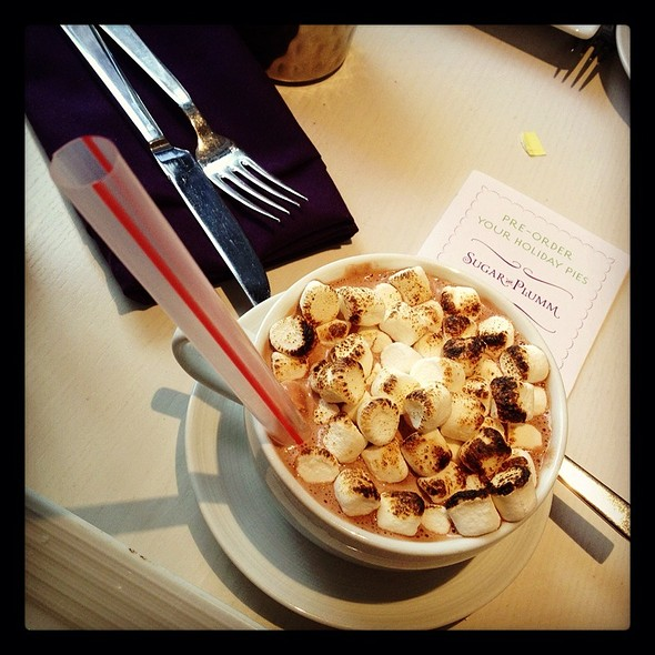 Hot Chocolate Milkshake @ Sugar And Plumm