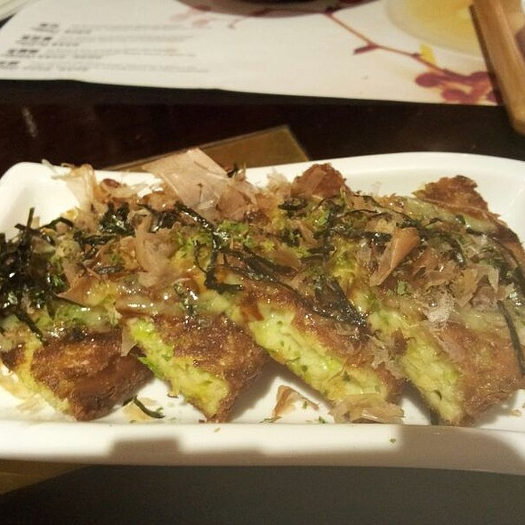 Okonomiyaki @ ten ren's tea time