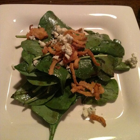 Spinach Salad - Tannin Wine Bar and Kitchen, Kansas City, MO