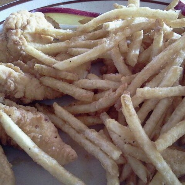 Chicken Fingers @ Border Cafe