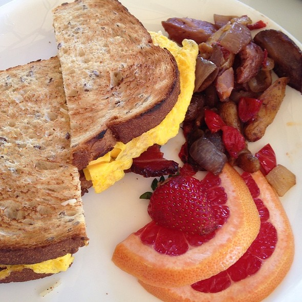 Breakfast Sandwich - CHI CHI at the Avalon Hotel Palm Springs, Palm Springs, CA
