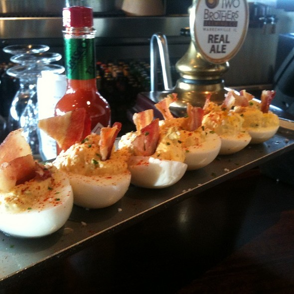 Deviled Eggs @ Brickhouse Tavern & Tap
