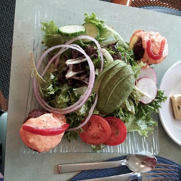 Crab Cake Salad - Panolivo, Paso Robles, CA