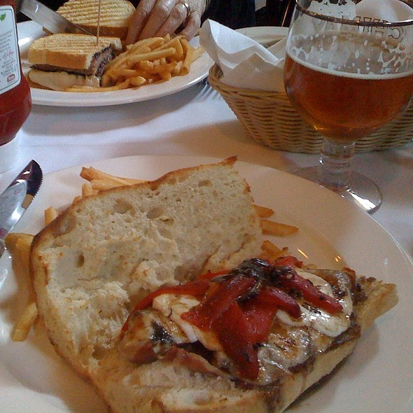 Prosciutto, Mozzarella, Tomato Sandwich @ Farnsworth House