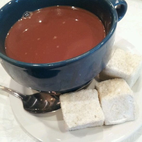 Housemade Hot Chocolate with Housemade Marshmallows  @ Mother Moo Creamery