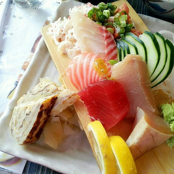 Sashimi Plate @ Mountain View Restaurant