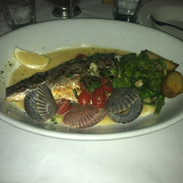 Sea Bass Branzino - Dodici Restaurant, Rockville Centre, NY