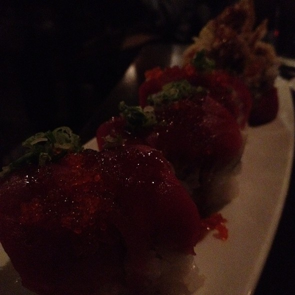 Red Spider Roll @ Basho Japanese Brasserie