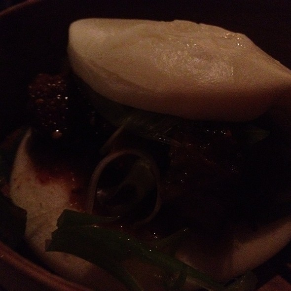 Steamed Bun Sandwich @ Basho Japanese Brasserie