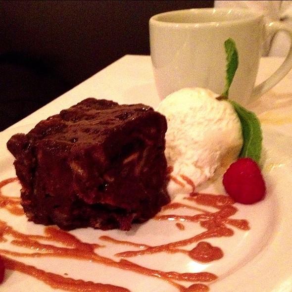 Chocolate Bread Pudding - Nonni's Bistro, Pleasanton, CA
