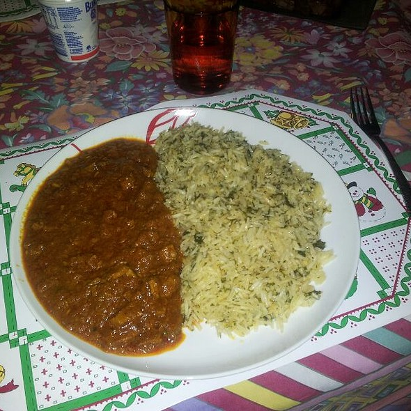 Beef Tikka Misala with Rice @ Home Made By Steve