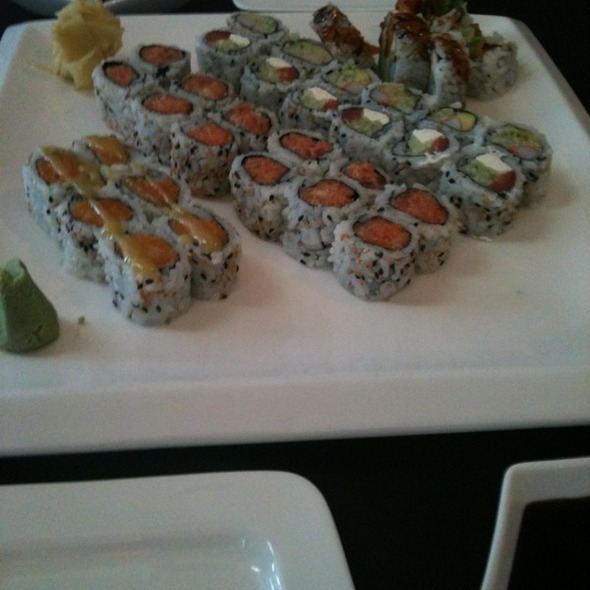 Sakura Garden Happy Hour Sushi Rolls Foodspotting