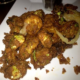 Chicken Fried Brussel Sprouts