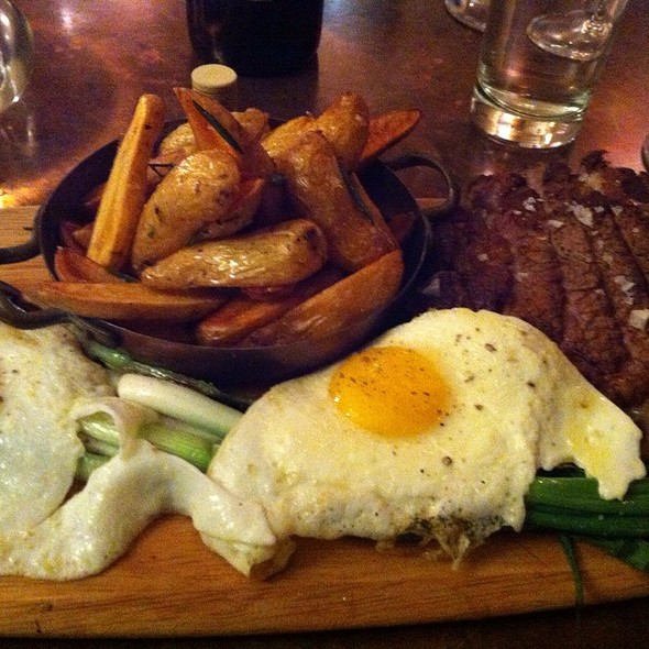 Steak Potatoes And Eggs - Majolica, Phoenixville, PA