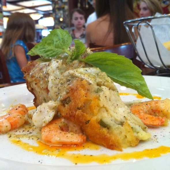 Shrimp & Crab Cheesecake @ La Griglia