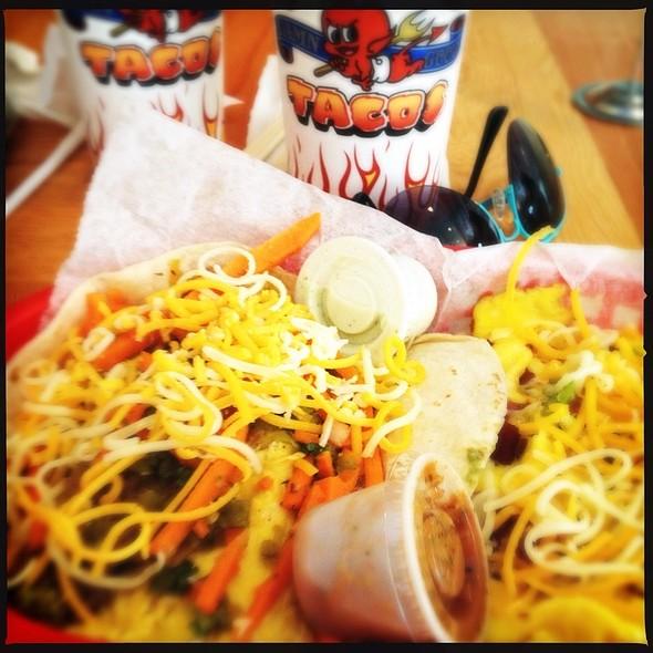 Dirty Sanchez Taco @ Torchy's Tacos