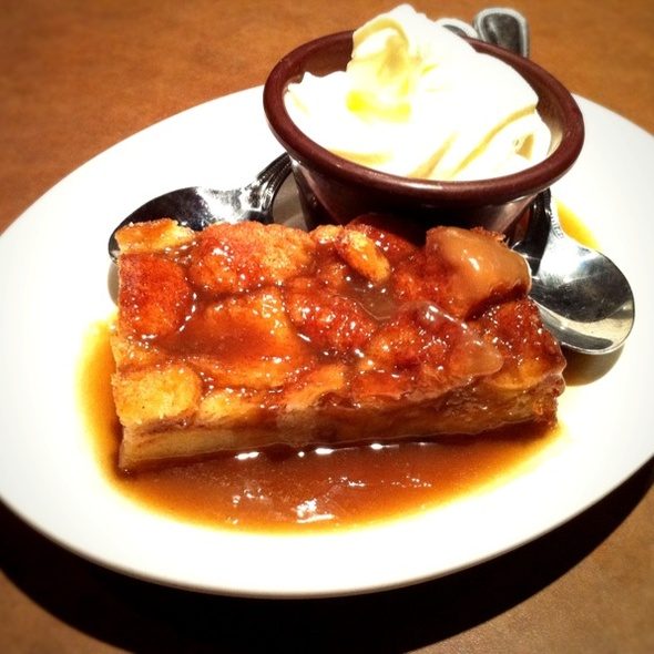 Bread Pudding @ Kenny's Burger Joint