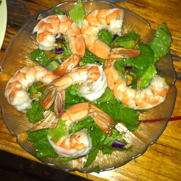 Shrimp Cocktail @ Reel Inn Fresh Fish Restaurant