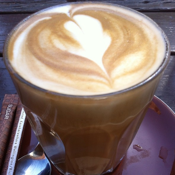 Soy Latte @ Caboose Canteen