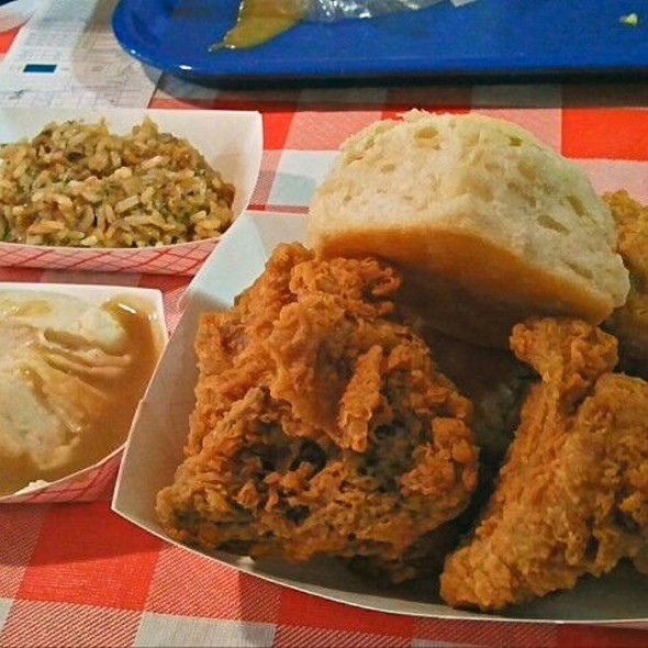 4-piece Chicken Meal @ Danny's Fried Chicken