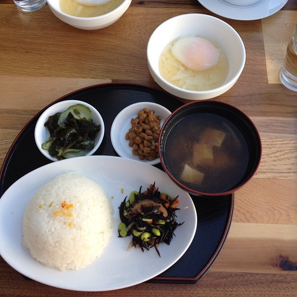 Japanese Breakfast @ Cassava Bakery + Cafe
