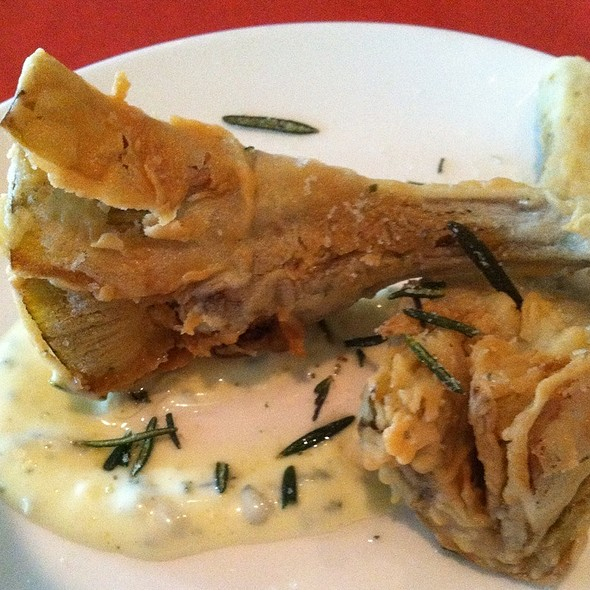 Fried Artichoke Hearts With Lemon Aioli - ASTI Trattoria, Austin, TX