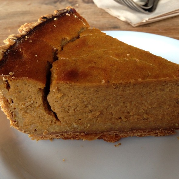 Pumpkin Pie @ Tartine Bakery