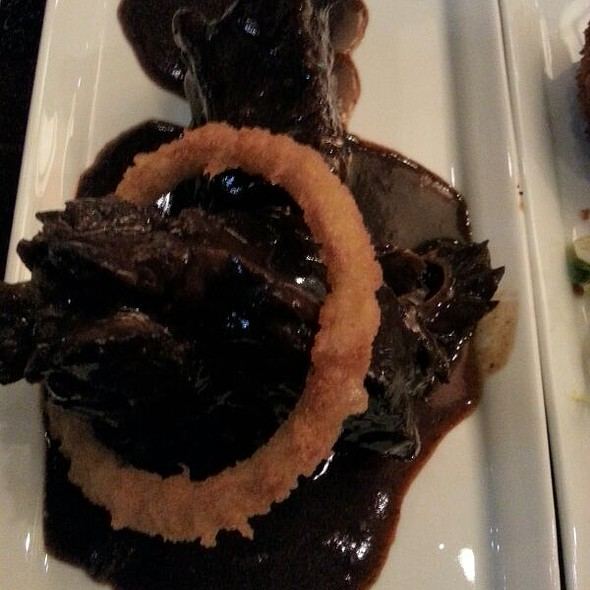 Braised Short Ribs @ Ottawa Marriott Hotel