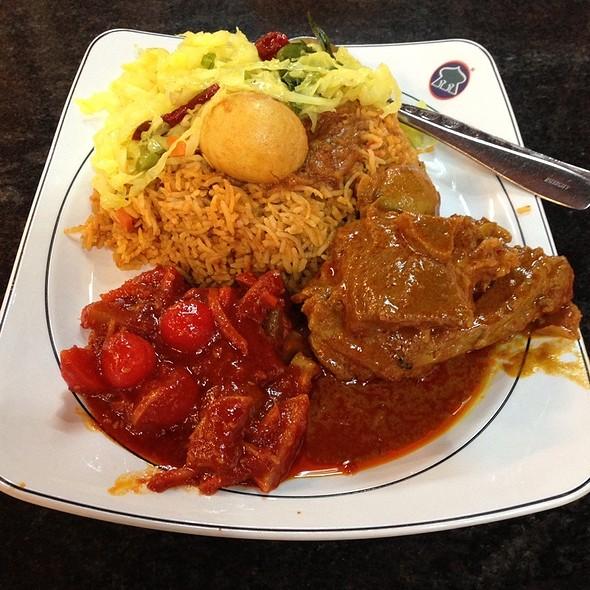 Nasi Beryani Bukhara Kambing Kari @ Restoran Syed
