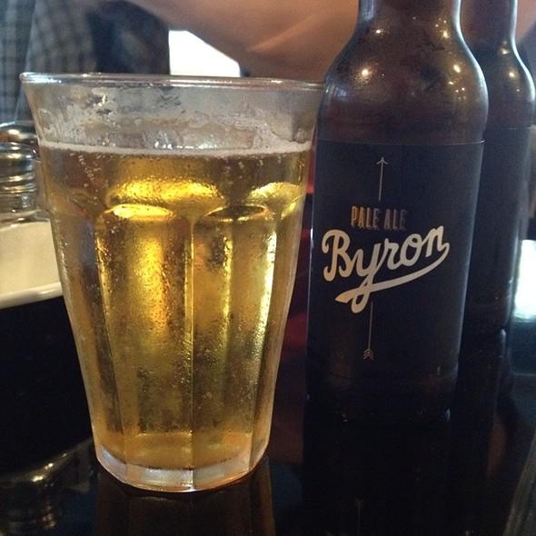 Byron Pale Ale @ Byron Burger