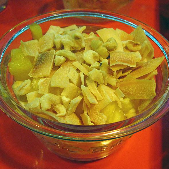 Toasted Coconut   Pineapple Yogurt
