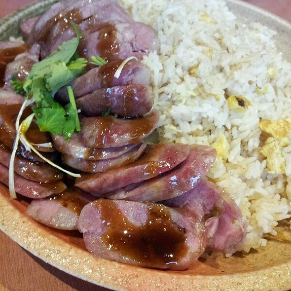 Taiwanese Sausage Fried Rice @ Well Tea Enterprises