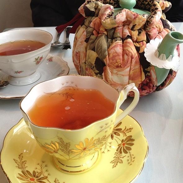 Harmony Tea Room Menu