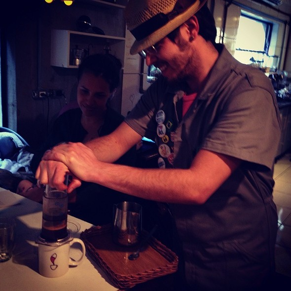 Café @ Coffee Lab Fradique Coutinho