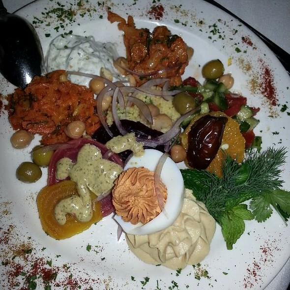 Mezze Platter - The Little Door, Los Angeles, CA