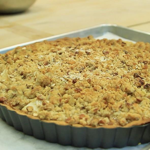 Apple Buttermilk Tart @ Gracie's