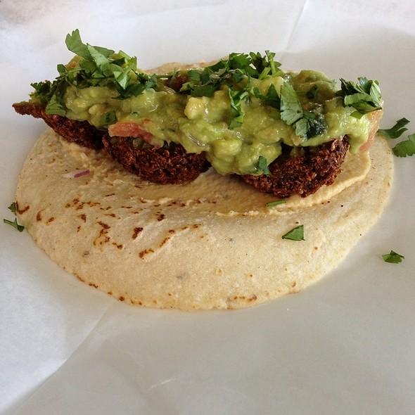 Falafel Taco @ Perla Tacqueria