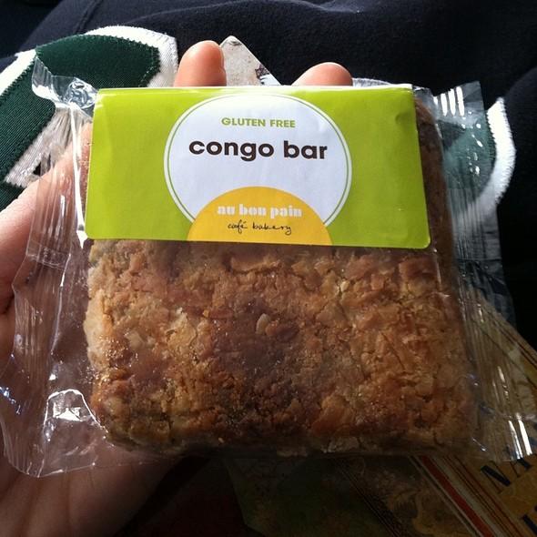 Congo Bar @ Au Bon Pain